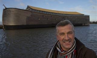 סיפורו המדהים של ההולנדי שרוצה להשיט תיבת נח שבוא בנה לישראל