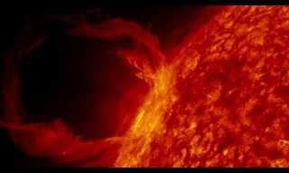 """נאס""""א מציגה: השמש כפי שלא נראתה מעולם"""