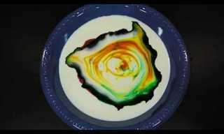 איך תהפכו קערת חלב ליצירת אומנות בתוך שניות!