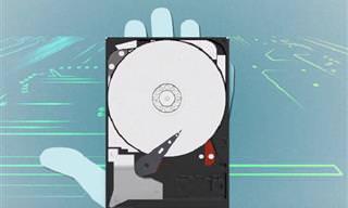 איך דיסק קשיח יכול להכיל מידע כה רב? צפו בסרטון הבא וגלו