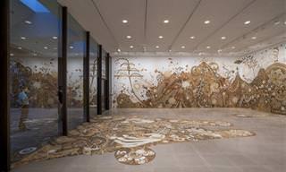 ציורי הקיר המרהיבים של יוסוקה אסאי