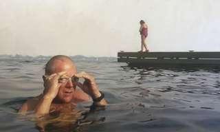 הציורים המדהימים של אלייסה מונק - כן, ציורים!