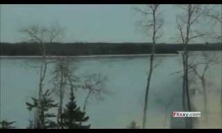 מסוק מחלץ צביה ועופר מנהר קפוא - מרגש!