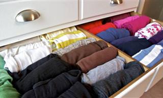 16 טיפים לאחסון קל ויעיל של בגדי חורף