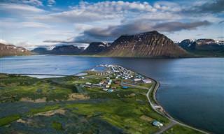 18 נופים מדהימים באיסלנד ממעוף הציפור