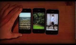 קליפ יצירתי בשילוב מכשירי אייפון