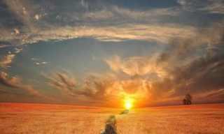 לאורה של שקיעה -נקודת מבט עוצרת נשימה!