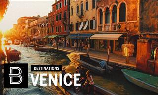 הקסם המיוחד של ונציה, עיר המים