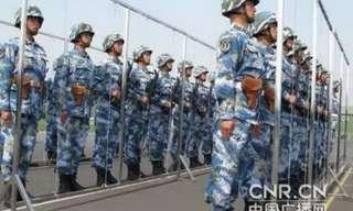 אימונים בצבא הסיני