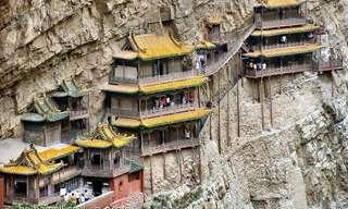 המקדש התלוי של הנגשן - עוד אחד מפלאי תבל!