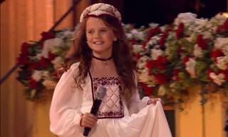 כשאנדרה ריו הזמין את הילדה הקטנה הזאת לבמה קרה משהו מדהים...