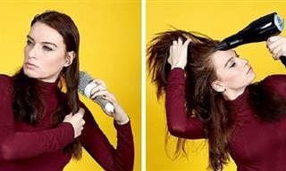8 טיפים להענקת נפח לשיער בקלות