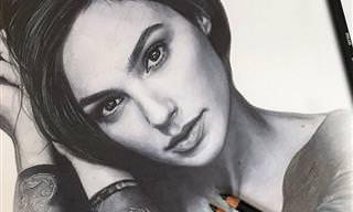 15 ציורים מדהימים ומציאותיים למדי שבוצעו בעפרונות בלבד