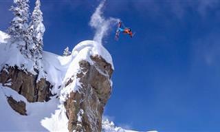 כשתצפו בסרטון הסקי המדהים הזה, תרגישו בעצמכם את החוויה