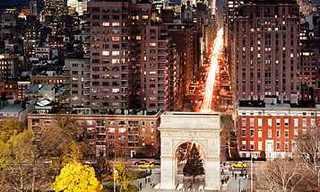 תמונות מדהימות של יום ולילה בניו יורק