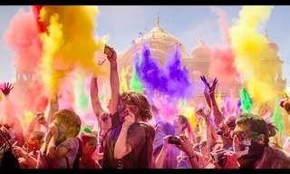 """פסטיבל הצבעים ההודי מגיע גם לארה""""ב!"""