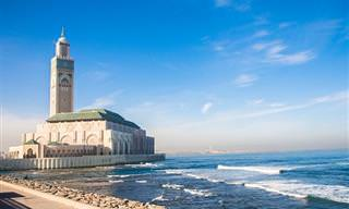 מפה אינטראקטיבית עם 13 סרטונים נפלאים של יעדים במרוקו