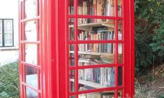 תאי הטלפון האדומים משנים את פניהם!