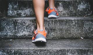 אימון מדרגות ב-30 דקות – 8 תרגילים מומלצים
