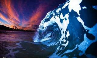תמונות הגלים המדהימות של אדם דופי