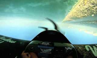 טיסה במטוס פעלולים - מטורף!