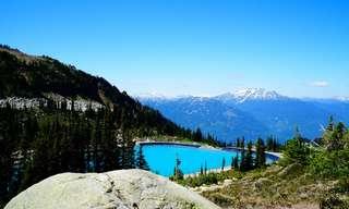 תמונות מדהימות מאתרי סקי בקיץ