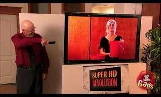 הטלוויזיה הכי מציאותית בעולם - מתיחה מצחיקה!