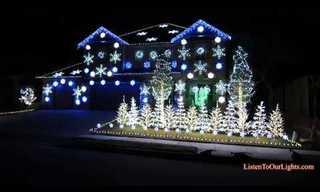 מופע אור-קולי ביתי מרהיב