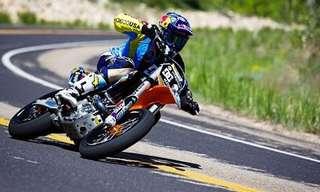 פעלולי אופנוע על מסלולי ספורט חורפי