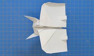 מדריכים ליצירת 8 ממטוסי נייר מיוחדים