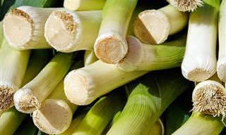 10 יתרונות בריאותיים של ירק הכרישה