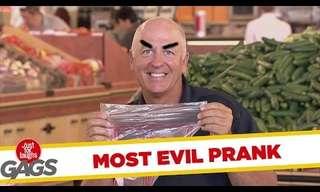 מתיחה מצחיקה בסופרמרקט