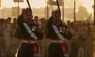 טקס סגירת הגבול בין הודו לפקיסטן