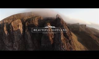 סקוטלנד באיכות HD ממעוף הציפור