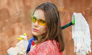 9 טעויות שאתם עושים בניקיון הבית שלכם וכיצד לפתור אותן