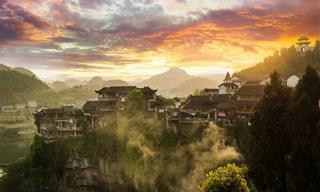 13 תמונות שמציגות את יופייה המרהיב של העיירה פורונג