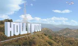 מלון הוליווד? רעיון יצירתי במיוחד!