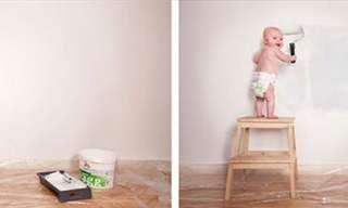 תינוקת הפוטושופ - תמונות מתוקות ומצחיקות!