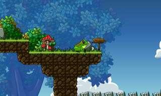 אתגר של צפרדע - משחק פלטפורמה!