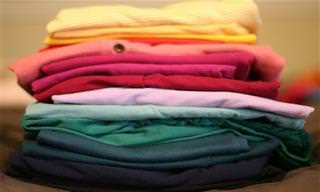 למדו איך לקפל את הבגדים בצורה שחוסכת מקום בארונות ובמגירות