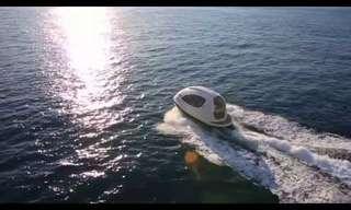 מיני יאכטה אישית - כלי שייט בעיצוב חללי