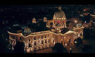 סרטון שחושף את יופייה ואורותיה של בלגרד בחשכה