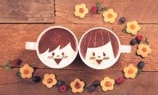 רומן על כוס קפה - הסרטון המקסים שיחמם לכם את הלב