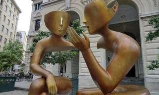 הפסלים המפורקים של אטיין פירוט