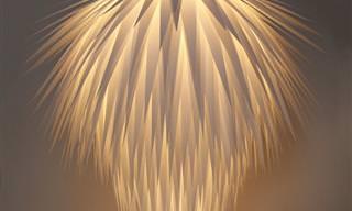 12 מנורות ואהילים מקסימים תוצרת בית
