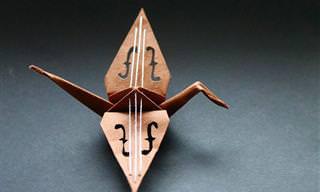 עגורני האוריגמי היצירתיים של כריסטיאן מריאנציוס