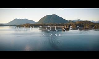 סרטון טבע מדהים של האי ונקובר