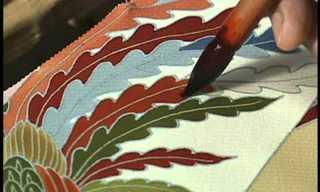יוזן - אמנות יצירת קימונו יפני בעבודת יד