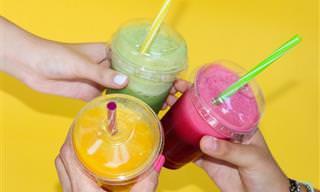 7 מתכונים נפלאים לשייקים בריאים וטעימים ממזונות על
