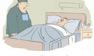18 קריקטורות משעשעות מעולם הרפואה והבריאות